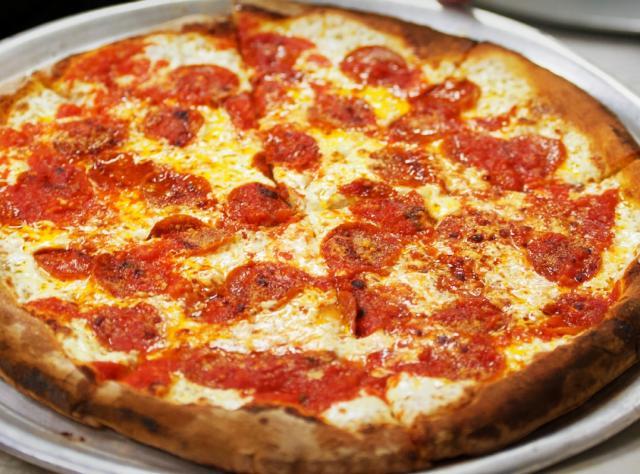Newyorský styl pizzy